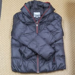 Women's Eddie Bauer Goose Down hooded jacket